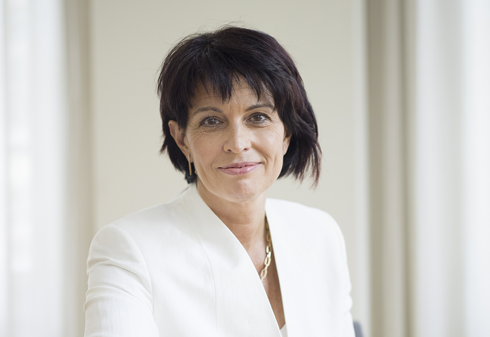 Doris Leuthard, President of the Swiss Confederation. Photo: Marc Wetli