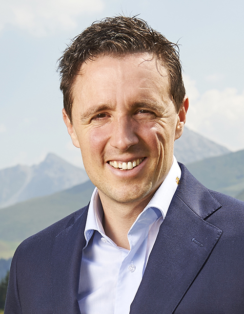Pascal Jenny, Director for Arosa-Lenzerheide. Photo: Nina Mattli