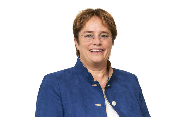 Magdalena Martullo, CEO of the EMS Group and member of Parliament.