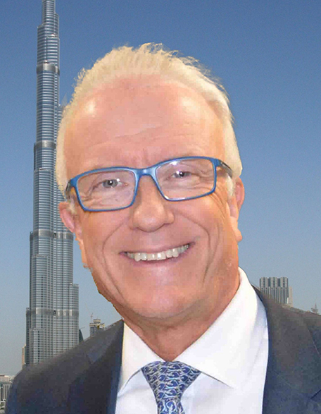 Urs Stirnimann, Vice President of the Swiss Business Council United Arab Emirates.