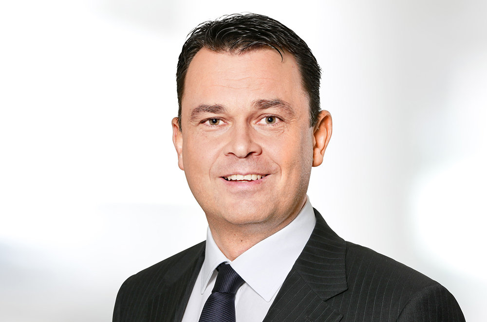 Michael Willome, Group CEO of Conzzeta AG.