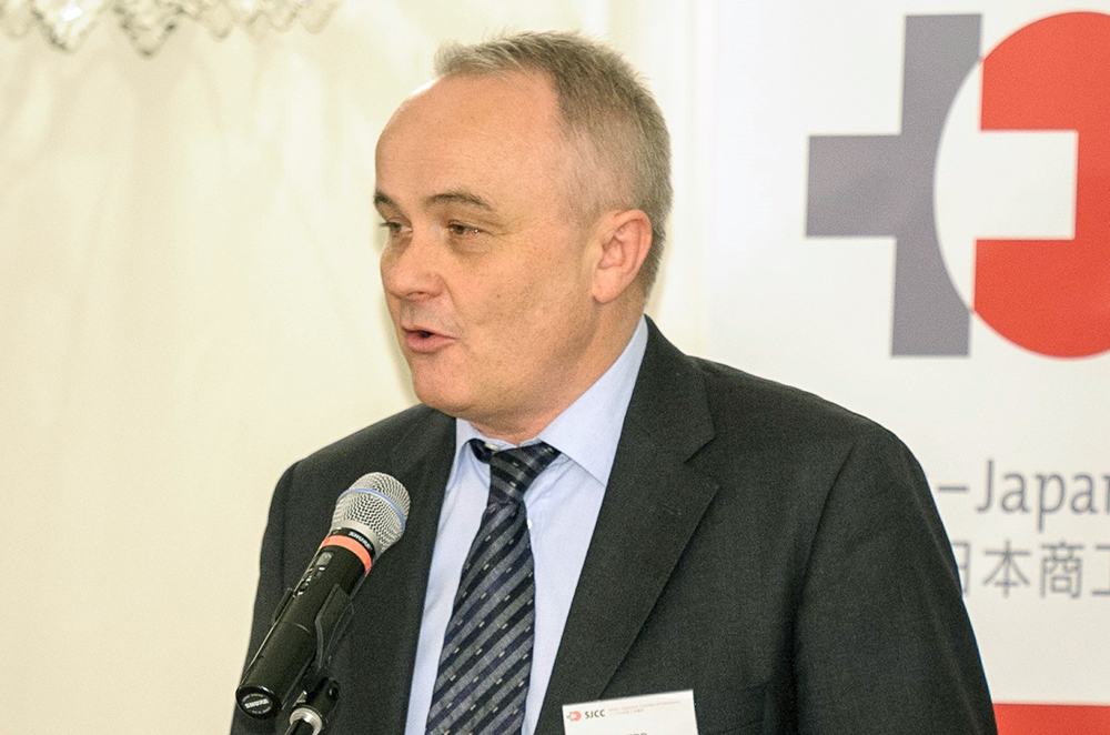 Martin Herb, President Swiss-Japanese Chamber of Commerce.