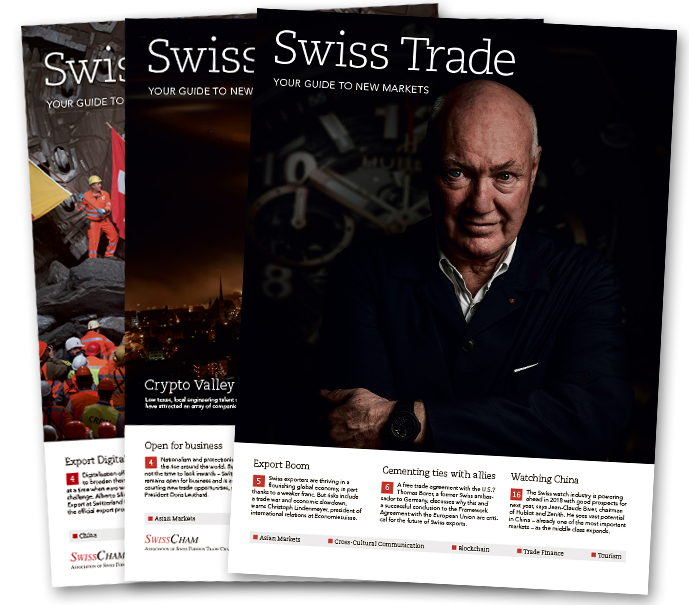 Download The Magazine As A Pdf Swiss Trade Your Guide To New Markets