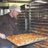 Reto Schmid's bakery produces up to 50,000 small tartlets every day.